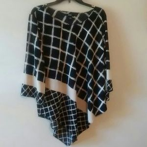 Alfani Flowy Abstract blouse